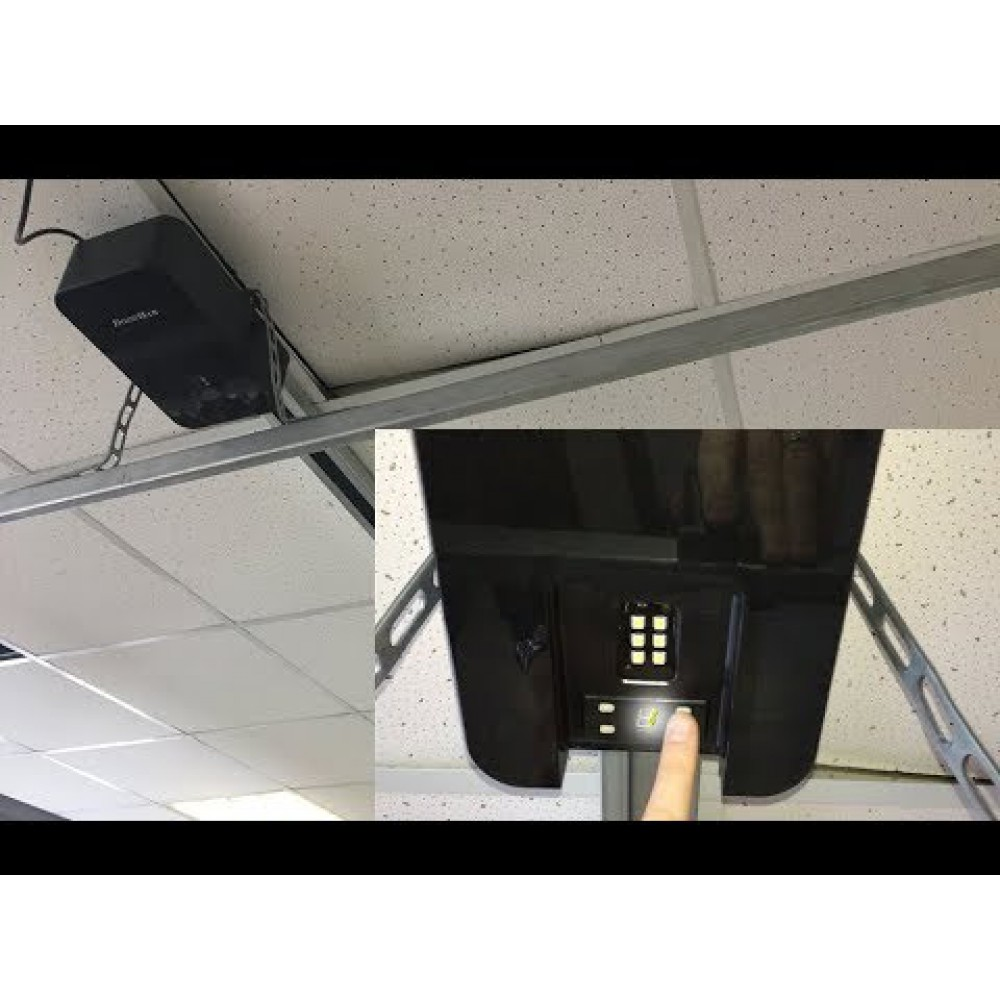 Автоматика для гаражных ворот DOORHAN Sectional 500PRO Black