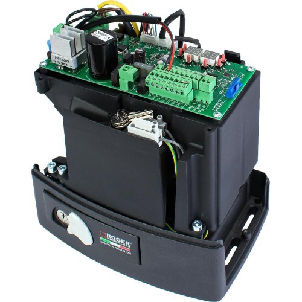 Автоматика для откатных ворот ROGER KIT BM30/400 Brushless с механическими концевиками