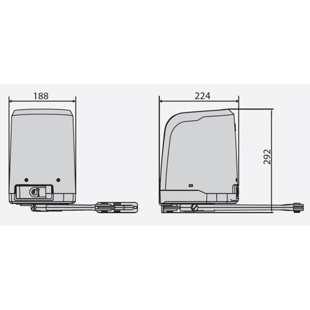 Автоматика для распашных ворот BFT VIRGO SMART BT A20 KIT