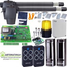 Автоматика для распашных ворот GENIUS G-BAT 400 maxi максимальный комплект