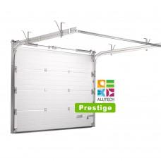 Гаражные ворота Alutech Prestige с торсионными пружинами - размер под заказ