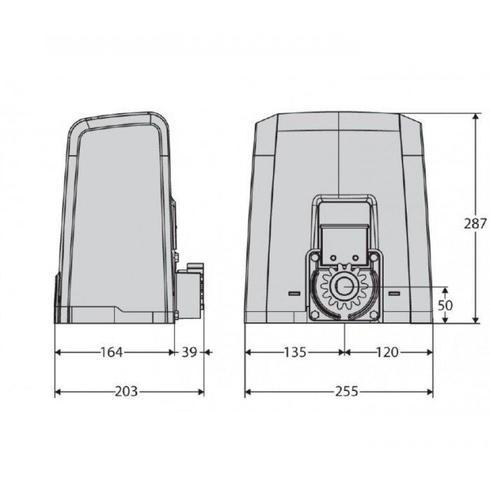 Автоматика для откатных ворот BFT DEIMOS BT A400 KIT