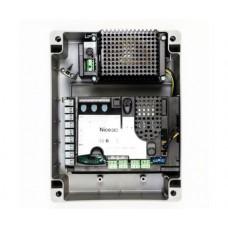 Блок управления NICE MC 824 H для 2-х электроприводов 24В, с системой BlueBUS,(двустворчатые распашные ворота)
